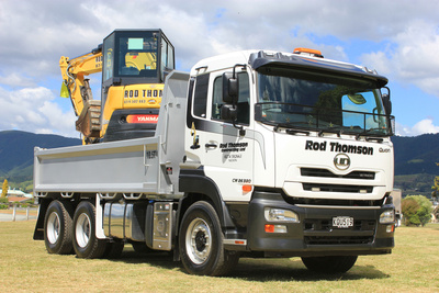 ROD THOMSON CONTRACTING LTD UD TRUCKS QUON CW26-380S