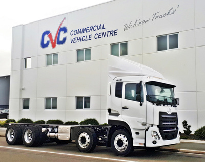 CVC is the premier South Island new truck sales dealer
